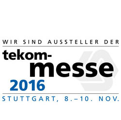 tekom trade fair 2016
